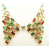 Colourful Crystal Choker Necklace