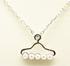 Pearl Hanger Short Necklace