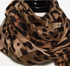 Silk Leapord print Scarf