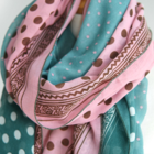 Beautiful Soft Dotted Scarf