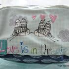 Wagtail Love is in the air make-up bag