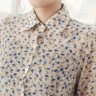 little flowers prints chiffon blouse
