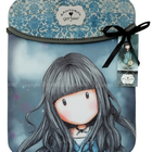 Gorjuss ipad sleeve white rabbit girl